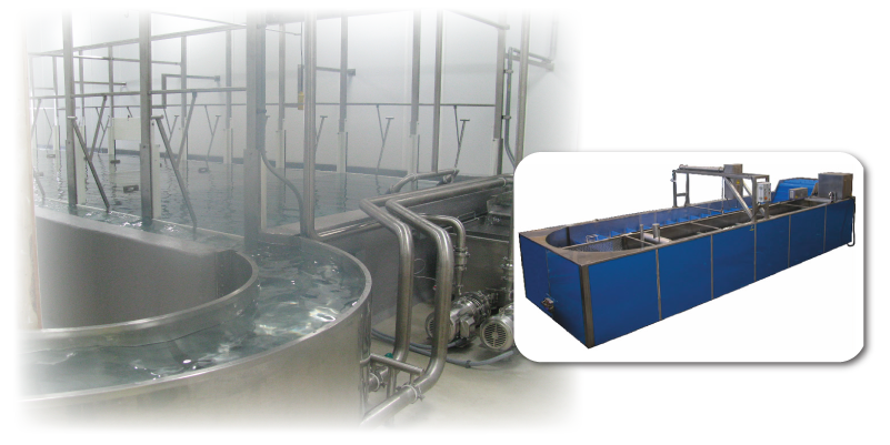 tank cooling water spray application rates